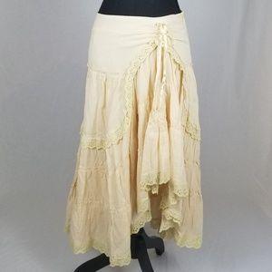 MD Lucy Paris Peach Pink Shabby Chic Twirly Skirt